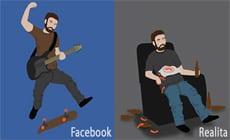 Facebook vs realita