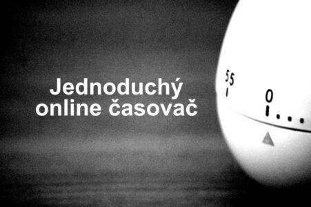 Online časovač - odpočítavanie času