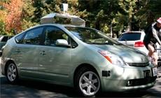 Google autonomous - Toyota Prius