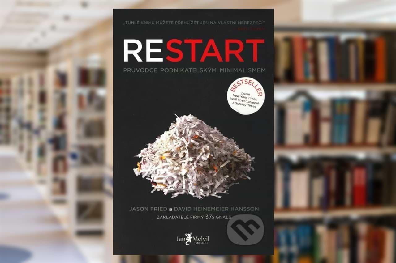 Kniha Reštart - Jason Fried