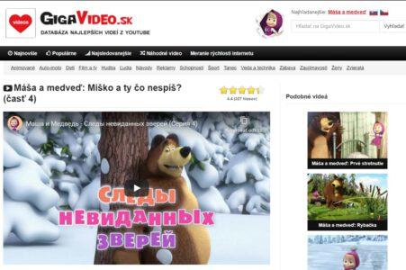 Gigavideo.sk - zábavné youtube videá