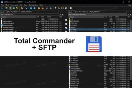 Total Commander + SFTP