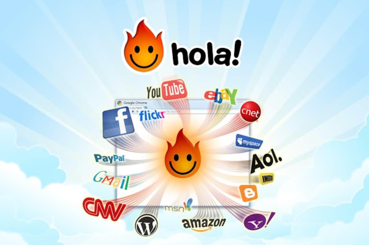 Hola Better Internet - odblokovanie stránok