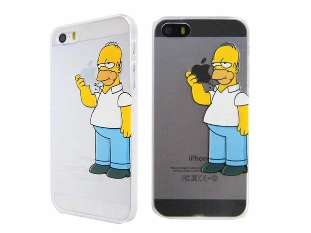 Kryt na mobil - Homer Simpson